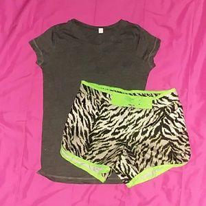 Girls Zebra Set